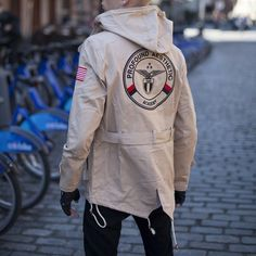 American Aviator Hooded Parka by Profound Aesthetic
