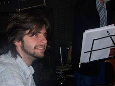El pianista de DON ARRABAL (José Taulamet), disfrutando del Ensayo