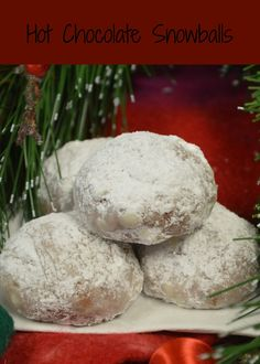 """Hot Chocolate Snowballs.  Recipes, gardening, and life! Formerly """"Sugar Cookies to Peterbilts"""""""