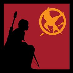 Katniss Silhouette by ~DreamBig20761 on deviantART
