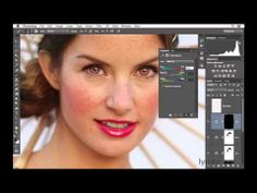 ▶ Portrait retouching tutorial: Enhancing the eyes | lynda.com - YouTube
