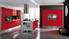 ala cucine red italian kitchen