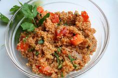 The Healthy Happy Wife: Quinoa Taco Salad (Dairy, Gluten/Grain and MSG Fre...