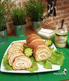 rolada majonezowa Avocado Toast, Breakfast, Ethnic Recipes, Food, Morning Coffee, Essen, Meals, Yemek, Eten