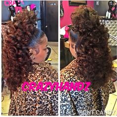 I would like this style for Thursday. Sew In Hairstyles, Black Girls Hairstyles, Pretty Hairstyles, Ponytail Styles, Curly Hair Styles, Natural Hair Styles, Love Hair, Gorgeous Hair, Hair Laid