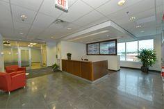 Reception Area. Power Stream. Vaughan Ontario. Designed By: SDI Interior Design http://www.sdi-design.com/