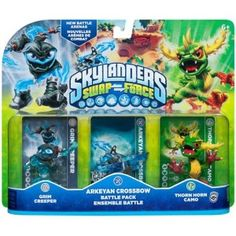 Activision 047875847576 Skylanders Swap Force Arkeyan Crossbow Battle Pack for sale online Playstation Games, Xbox Games, Skylanders Swap Force Characters, Freebies Uk, Happy As A Clam, Crossbow, Kids Store, Learning Games, Pop