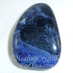 Sodalite may stimulate latent creative abilities and may help teachers, writers and students to understand deeper philosophical principles.