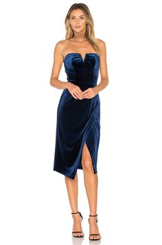 687a87c04cd99 #REVOLVE Night Out Outfit, Bergdorf Goodman, Strapless Dress Formal, Nye,  Dress
