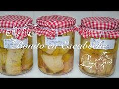 ▶ Receta de Bonito Escabechado en Conserva - Chef de mi casa.com - YouTube