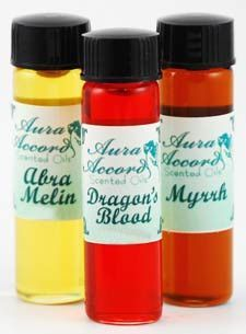 Aura Accord's Moon oil using Anna Riva oils 2 drams