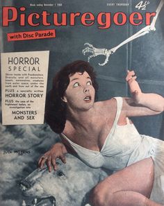 I write horror. I love horror, movies, comics and novels. I mainly write comics but also films, novels and video-games. My first love is punk. It is time for a revolution. Horror Comics, Horror Films, Horror Stories, Movie Magazine, Pulp Magazine, Sci Fi Movies, Old Movies, Alice White, White Zombie