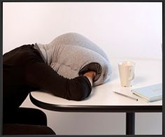 """""""Ostrich"""" desk pillow. This would cause such a stir in the office you'd probably never get to sleep."""