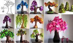 DIY Felt Trees - Home Design - Google+