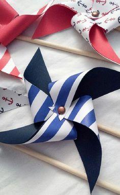 estilo navy bebés marineros nautico anclas rallas blanco marino rojo ideas 15