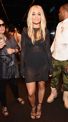 Rita Ora à la Fashion Week de New York