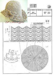 Caps, hats and panama: Knit crochet. Caps, hats and panama: Knit crochet ~ Bonnet Crochet, Crochet Cap, Crochet Beanie, Love Crochet, Irish Crochet, Diy Crochet, Crochet Crafts, Crochet Projects, Knitted Hats