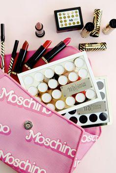 Make-up: Urban Decay X Gwen Stefani Collection pink flatlay