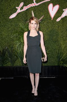 Emma Roberts Pictures - Lanvin And Living Beauty Host An Evening Of Fashion - Zimbio