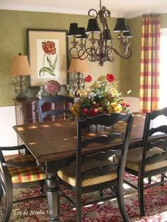 Stunning Fancy French Country Dining Room Decor Ideas 09