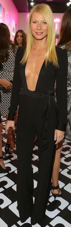 Gwyneth Paltrow went super sexy in @DVF