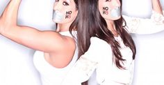 WWE Superstars and Divas show their support for the NOH8 Campaign. Photography by Adam Bouska, courtesy of NOH8 Campaign.