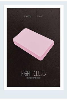 Minimalist movie posters: Fight Club