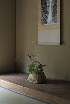 Tokonoma 床の間 - a built-in recessed space in a Japanese style reception room                                                                                                                                                                                 More