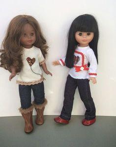 """Vestidos Para Nancy """"El Costurero De Chus"""": Nuevos modelos de camisetas para Nancy y Pepas"""