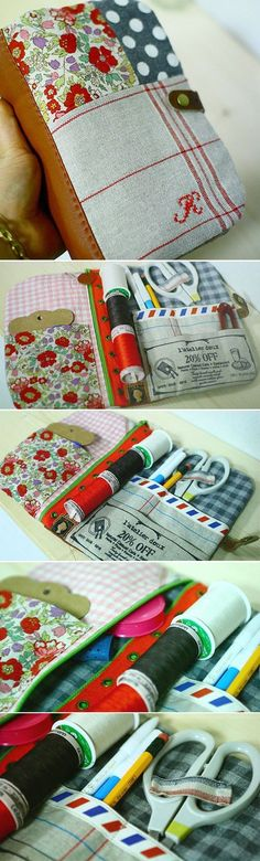 I would love to have this sewing kit - Do It Darling bag