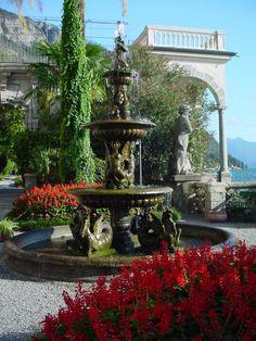 A garden in Varenna, Italy
