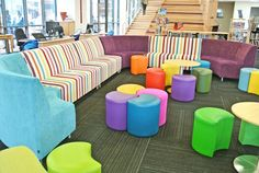 Chisholm Catholic college - library seating