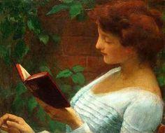 Franz Dvorak (1862 – 1927) Aline for my love of books