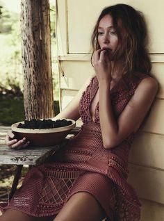 Красивые фотосессии в Vogue Australia