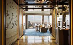 Signature Suites, Shangri-La Hotel, At The Shard, London. headbox.com