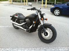 Honda Shadow - Black Matte Honda Shadow Phantom, Motorcycle Art, Anubis, Cars Motorcycles, Cool Cars, Bike, Shadows, Vehicles, Black