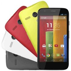 Celular Smartphone Desbloqueado Motorola Moto G Colors - Dual Chip, Android 4.3, Câmera de 5 MP, Tela HD 4.5, Quad-Core e Quatro Capas Color...