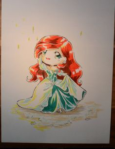 Ariel's first day as a human by Lighane on DeviantArt