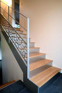 escaliers métal sur mesure, pièces uniques / modèle déposé /