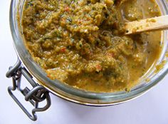 Puerto Rican sofrito - we put this in everything except desserts. It's pretty much what gives our food its flavor.