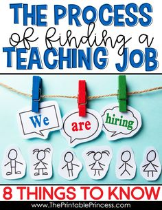 Find tips and tricks on navigating through the process of finding a teaching job. From where to start to how to make your application stand out. Career Change For Teachers, Jobs For Teachers, First Year Teachers, Teacher Blogs, Teacher Hacks, My Teacher, Teacher Resources, Kindergarten Centers, Teaching Kindergarten