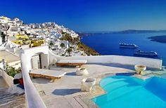 I'm no white-girl, but I'll be damned if Santorini is not at the top of my travel goals. As I am sure you all know, Santorini is an island in the Greek Santorini Island, Santorini Tours, Santorini Honeymoon, Mykonos Greece, Santorini Holidays, Oia Santorini, Cyclades Greece, Greece Sea, Greek Isles