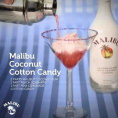 Malibu Coconut Cotton Candy