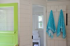 If in doubt always go with polka dots and turquoise and lime green!