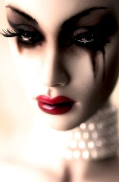 don't cry...your mascara will run...
