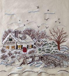 """Kış...""""Winter""""...Sergi için hazırlanan projeler...."""