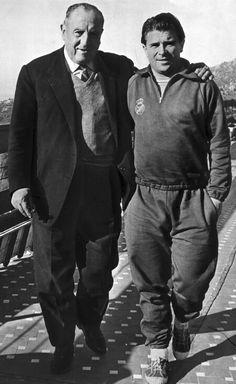 #Santiago Bernabéu & Ferenc Puskas