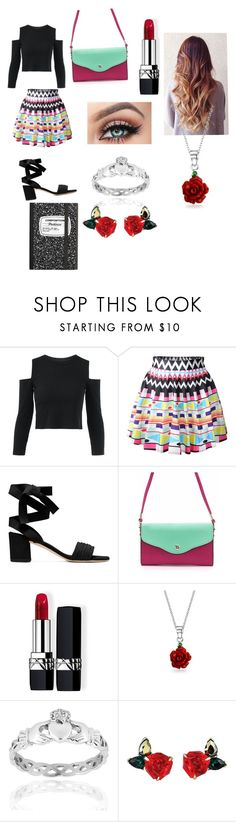 """""""Untitled #321"""" by wwefangirl2020 ❤ liked on Polyvore featuring Christian Dior, Bling Jewelry and West Coast Jewelry"""