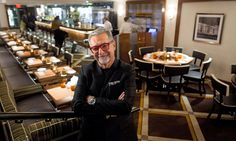 """Or we do what the Italians do. We restore the place perfectly, we put in some great lighting and we park a Ferrari in the middle so the old will be set off by the new, and the new will not look so new because of the old; there will be a tension.""  Designer for the Stars of the Restaurant Galaxy - NYTimes"