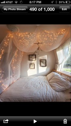 Cool idea for the first night bedroom